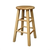 "Winsome Wood Pacey 2-Pc 24"" Bar Stool Set Beech, 13.4 x 13.4 x 24.2, Beech"