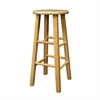 "Winsome Wood Pacey 2-Pc 29"" Bar Stool Set Beech, 13.6 x 13.6 x 29.1, Beech"