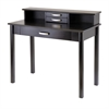 Winsome Wood Liso 2Pc Home Office Set, Computer Desk With Hutch