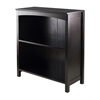 "Winsome Wood Terrace Storage Shelf 3-Tier 26"" Wide In Espresso, 25.98 x 11.81 x 30, Espresso"