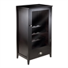 Winsome Wood Bordeaux Modular Wine Cabinet 20-Bottle Shelf, 22.64 x 15.75 x 40, Espresso