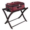 Winsome Wood Scarlett Luggage Rack Espresso, 26.5 x 18.7 x 20, Dark Espresso