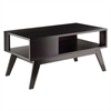 Winsome Wood Thompson Coffee Table, 37.01 x 20 x 18.11, Espresso