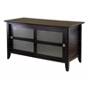 Winsome Wood Syrah Tv Stand, 44.49 x 20 x 23.62, Dark Espresso