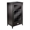 Winsome Wood Bordeaux Modular Wine Cabinet 25-Bottle Slot, 22.64 x 15.75 x 40, Espresso