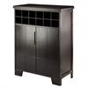 Winsome Wood Bonnay Wine Cabinet, 30.31 x 14.88 x 40, Espresso