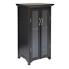 Winsome Wood Mason Wine Cabinet Holds 20 Bottles, French Doors, 22 x 17.2 x 40, Dark Espresso