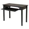 Winsome Wood Liso Computer Desk With Pull Out Key Board, 42 x 20.5 x 31.1, Dark Espresso