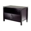 Winsome Wood Linea Tv Stand, 35.4 x 20.2 x 24, Dark Espresso