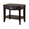 Winsome Wood Danica End Table, 24 x 15.98 x 20, Dark Espresso