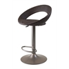 Winsome Wood Bali Adjustable Airlift Stool, Woven Seat, 20.71 x 18.41 x 38.66, Rattan