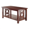 Winsome Wood Ollie Coffee Table Walnut, 37 x 20 x 18.03, Walnut