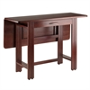 Winsome Wood Taylor Drop Leaf Table, 41.73 x 30.51 x 29.13, Walnut
