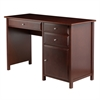 Winsome Wood Delta Office Writing Desk Walnut, 47.24 x 20.24 x 30.71, Walnut