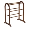 Winsome Wood Eleanor Quilt Rack, 25.98 x 18.42 x 30, Antique Walnut