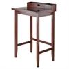 Winsome Wood Archie High Desk, 27.95 x 21.65 x 45.04, Walnut
