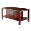 Winsome Wood Bora Coffee Table, 38.03 x 19.69 x 18.11, Walnut