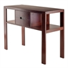Winsome Wood Bora Console Table, 40 x 15.91 x 29.92, Walnut