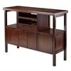 Winsome Wood Diego Buffet / Sideboard Table, 45.98 x 15.98 x 34.02, Walnut