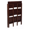 Winsome Wood Terry Folding Bookcase Walnut, 27.8 x 11.5 x 38.5, Antique Walnut