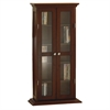 Winsome Wood Dvd/Cd Cabinet, 21.97 x 9.17 x 44.17, Antique Walnut