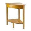 Winsome Wood Studio Corner Table, 20 x 20 x 28.94, Honey