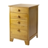 Winsome Wood Studio Filing Cabinet, 18.27 x 20.19 x 28.94, Honey