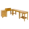 Winsome Wood Studio 5Pc Home Office Set