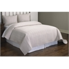 Christopher Ivory Rectangle Stitch 3 pc Quilt Set King, Ivory