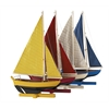 Authentic Models Sunset Sailers, Set Of 4