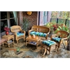 Tortuga Outdoor Portside 6Pc Seating - Amber - Haliwell Caribbean
