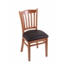 "3120 18"" Chair with Medium Finish, Allante Espresso Seat"
