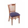 "3120 18"" Chair with Medium Finish, Axis Denim Seat"