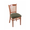 "3120 18"" Chair with Medium Finish, Axis Grove Seat"