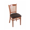 "3120 18"" Chair with Medium Finish, Rein Coffee Seat"