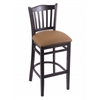 "3120 30"" Stool with Black Finish, Allante Beechwood Seat"