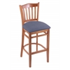 "Holland Bar Stool Co. 3120  25"" Stool with Medium Finish, Rein Bay Seat"