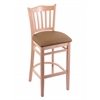 "Holland Bar Stool Co. 3120  25"" Stool with Natural Finish, Allante Beechwood Seat"