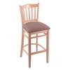 "3120 25"" Stool with Natural Finish, Axis Willow Seat"