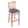"Holland Bar Stool Co. 3120  30"" Stool with Natural Finish, Rein Bay Seat"
