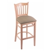 "3120 25"" Stool with Natural Finish, Rein Thatch Seat"