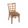 "Holland Bar Stool Co. 3130  18"" Chair with Medium Finish, Allante Beechwood Seat"