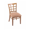 "3130 18"" Chair with Medium Finish, Axis Summer Seat"