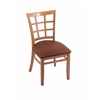 "3130 18"" Chair with Medium Finish, Rein Adobe Seat"