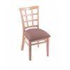 "3130 18"" Chair with Natural Finish, Axis Willow Seat"