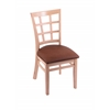"3130 18"" Chair with Natural Finish, Rein Adobe Seat"
