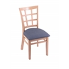 "3130 18"" Chair with Natural Finish, Rein Bay Seat"