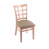 "Holland Bar Stool Co. 3130  18"" Chair with Natural Finish, Rein Thatch Seat"