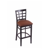 "Holland Bar Stool Co. 3130  30"" Stool with Black Finish, Rein Adobe Seat"