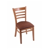 "Holland Bar Stool Co. 3140  18"" Chair with Medium Finish, Rein Adobe Seat"